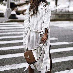 Babaton Kahlo Robe Striped Jacket / Coat size xxs